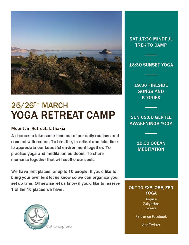 Yoga retreat camp 2017